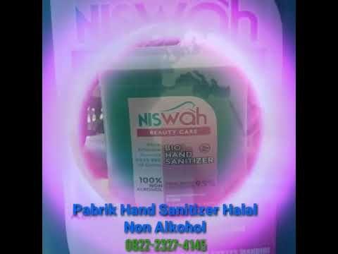 082223274145 Pabrik Hand Sanitizer Daun Sirih Halal Non Alkohol