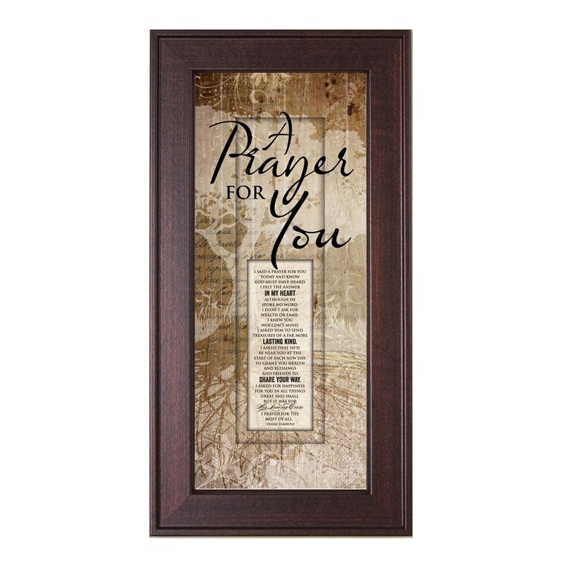 James Lawrence 3081 A Prayer For You Framed Wall Art