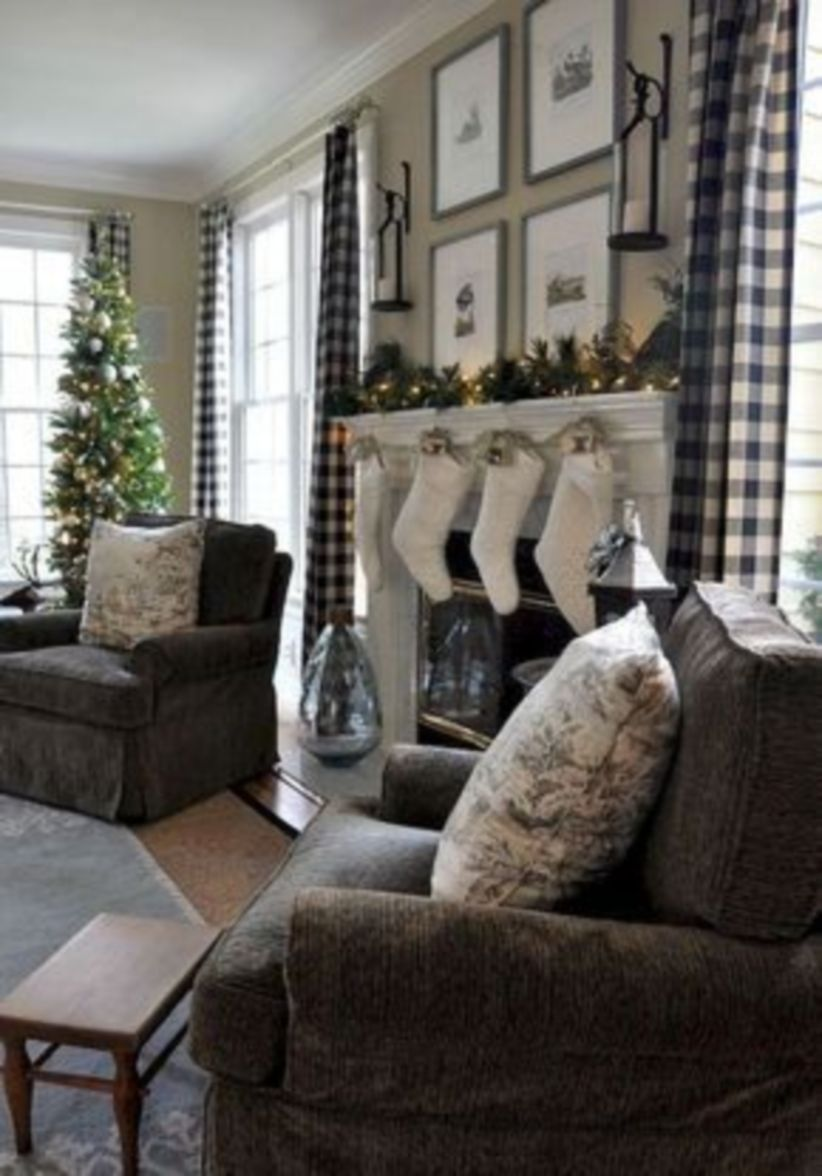 55 Stylish Farmhouse Living Room Curtains Ideas With Images