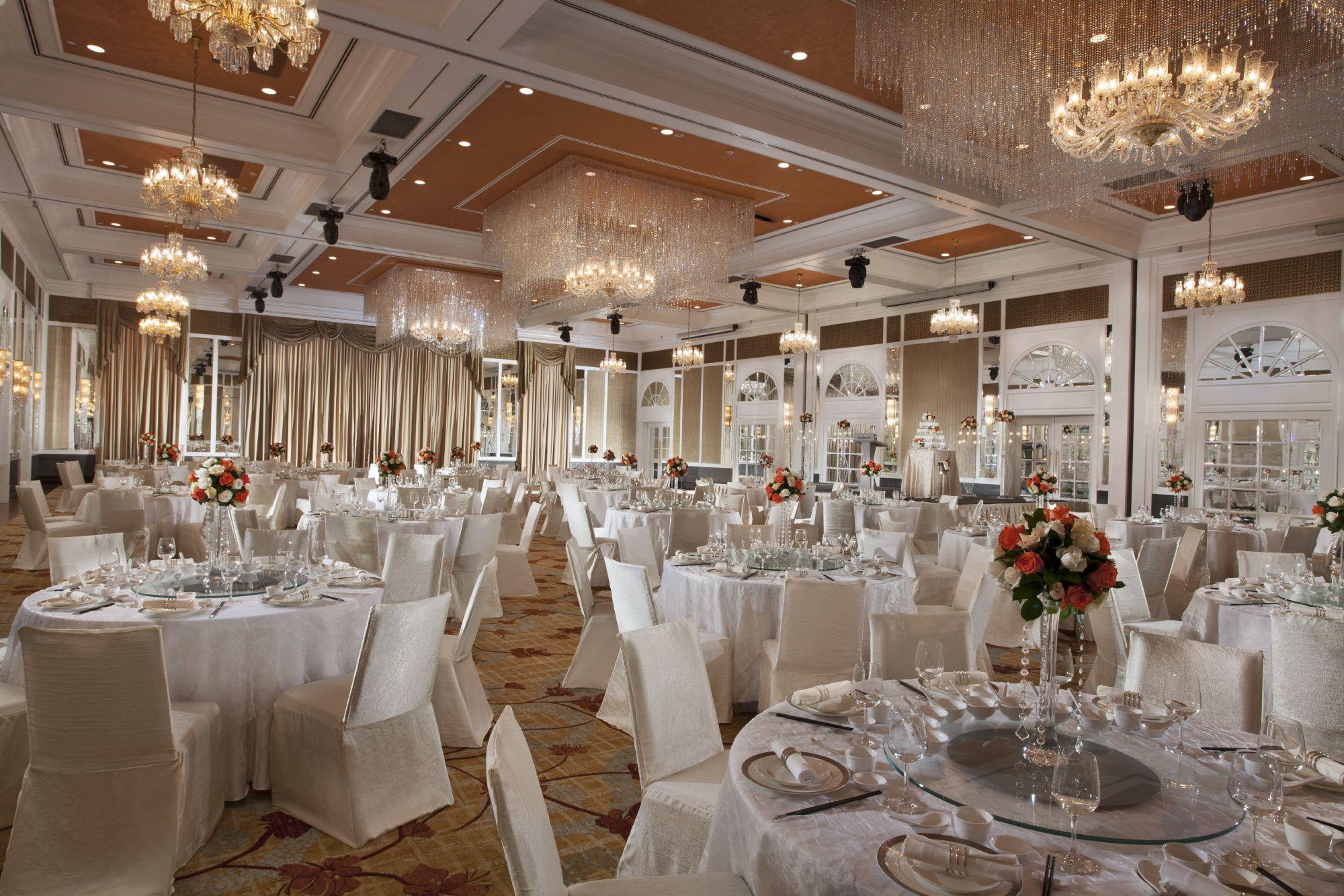 Pillarless Grand Ballroom at InterContinental Singapore