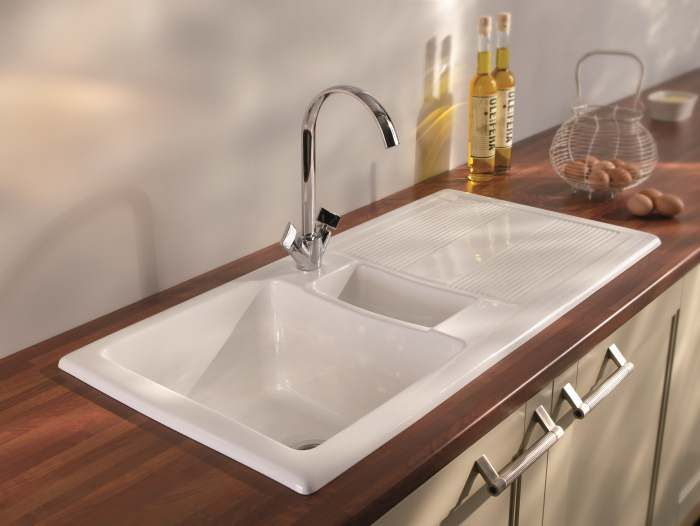 Carron Phoenix Ceramic Kitchen Sinks Shonelle 150 Designer Sink