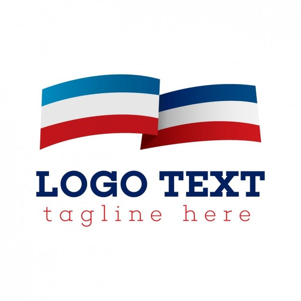 Flag Logo Blue White And Red Paid Affiliate Paid Logo Red White Flag In 2020 Flag Logo Logos Country Flags