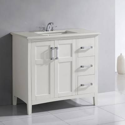 40 Inch White Bathroom Vanity With Top  Google Search  Small Captivating 40 Inch Bathroom Vanity Design Decoration