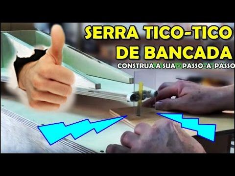 FAÇA SUA BANCADA MULTIFUNCIONAL CASEIRA, para SERRA TICO TICO - YouTube