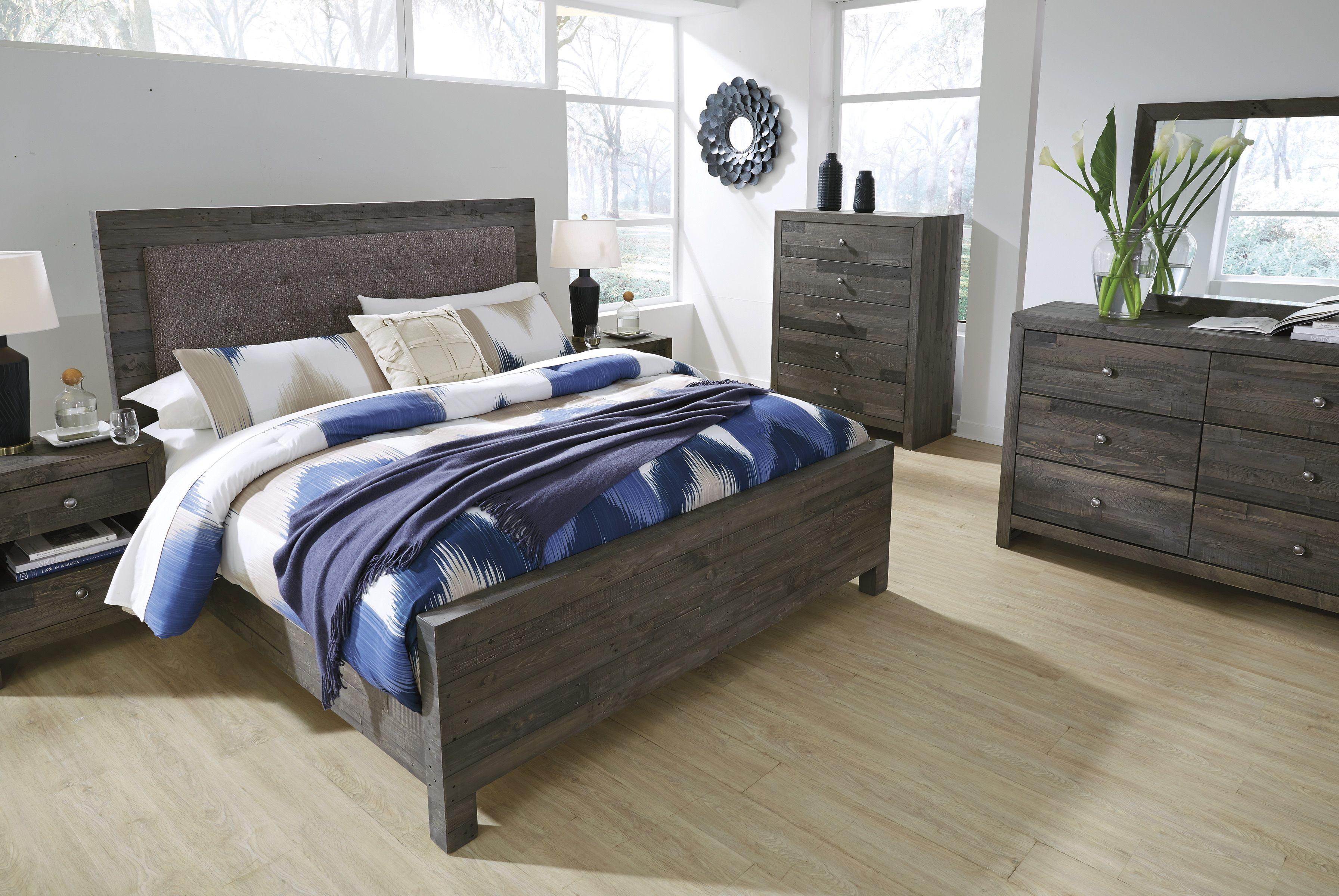 Mayflyn 5 Piece Queen Upholstered Bedroom Upholstered