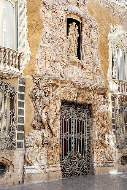 Palacio del Marqúes de Dos Aguas, Valencia, Spain
