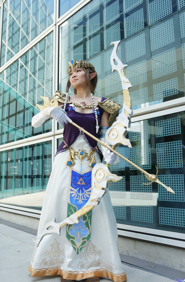 Princess Zelda, the Legend of Zelda, by GothLoliChanKaru.