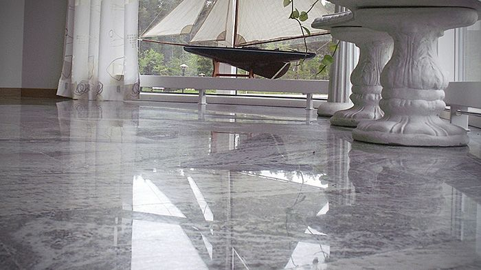 How To Polish New Marble Flooring Marble Floor Marble House Painting Tile Floors
