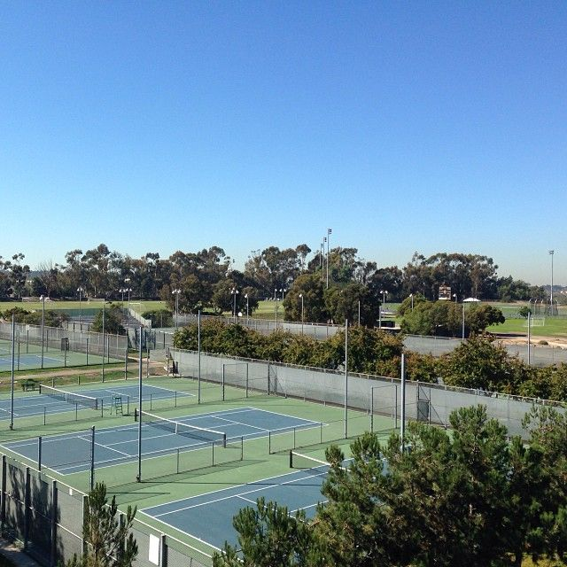 Anteater Tennis Courts Tennis Court Uc Irvine Campus Uci Campus