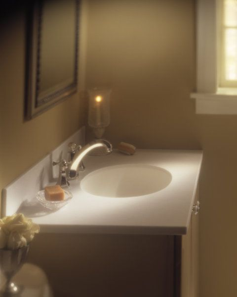Corian Bathroom Sinks And Countertops: Aurora Corian® Sink