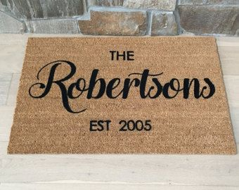 Custom Door Mat Personalized Doormat Door Mat Doormat Door Mat Personalized & Customized Door Mats \u0026 \