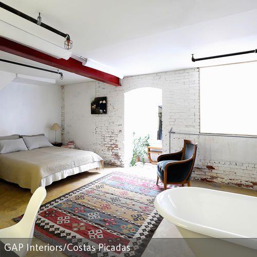 wohnideen offenen raum, wohnidee im industrie-stil | industrie, wohnideen schlafzimmer und, Design ideen