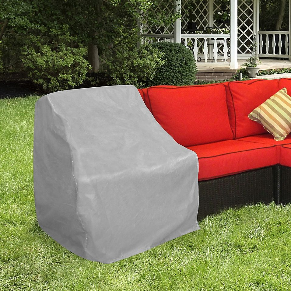 Protective Covers By Adco Modular Sectional Left Arm Sofa Cover In Grey Outdoor Furniture Covers Sofa Covers Patio Furniture Covers