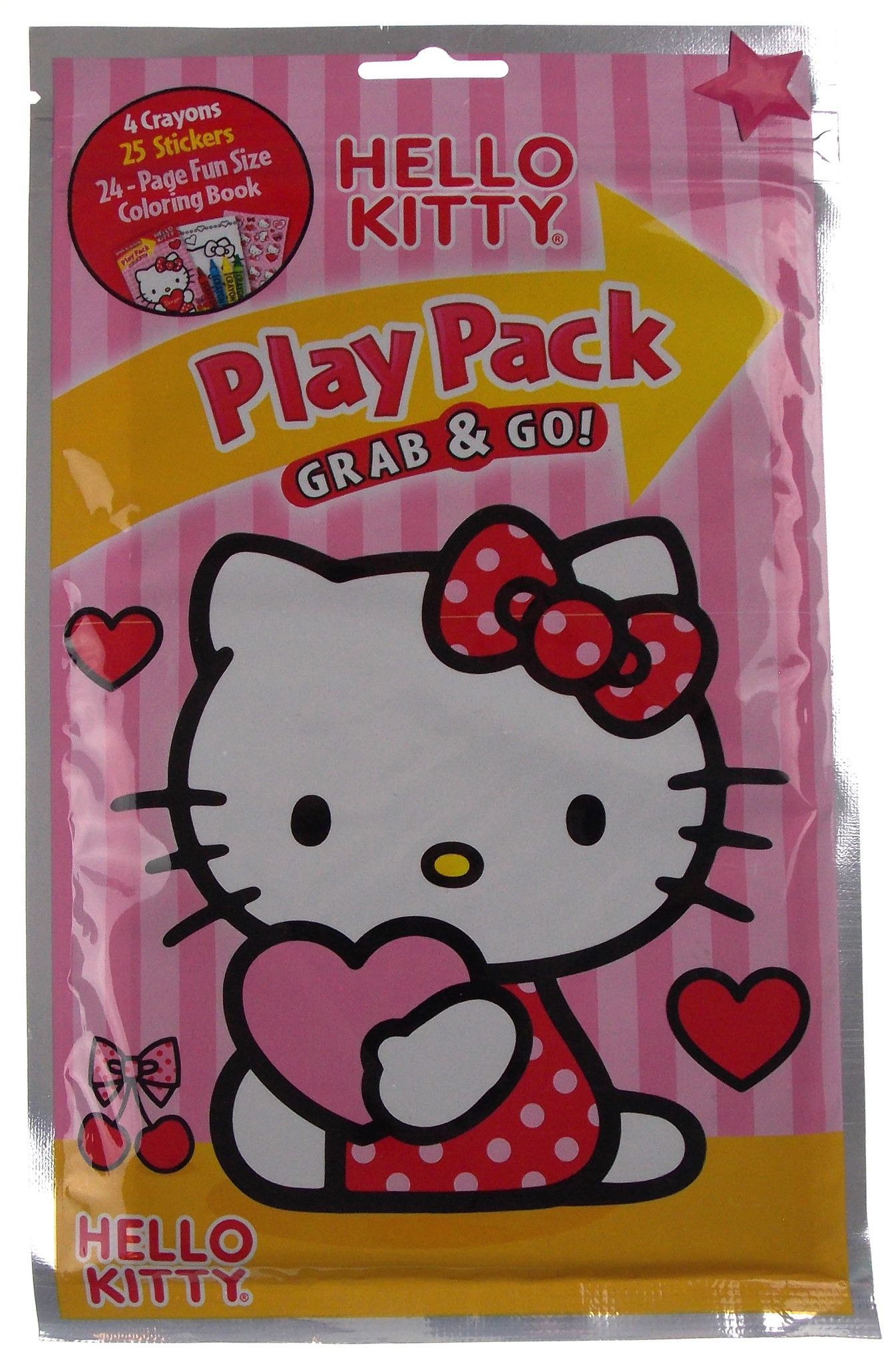 d1d84605d Hasbro Play Pack Grab & Go Hello Kitty Set of 12 Play Packs Party and