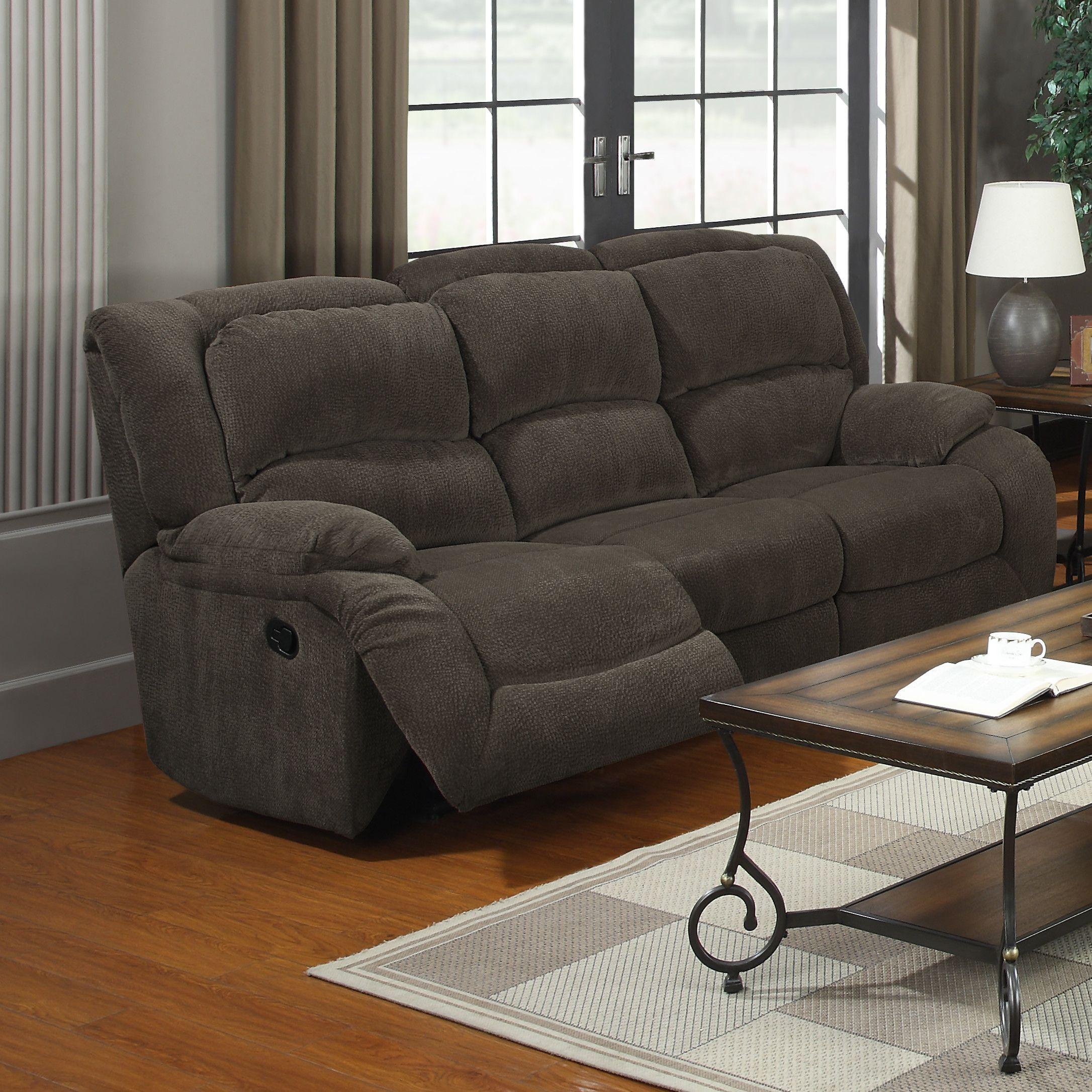 $599.99 Red Barrel Studio® Amalthea Reclining Sofa | Couches ...