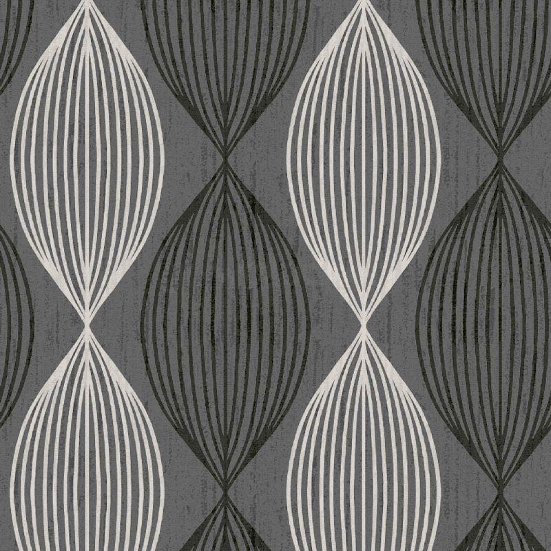 White Wallpaper Design Texture Orbit grey black white