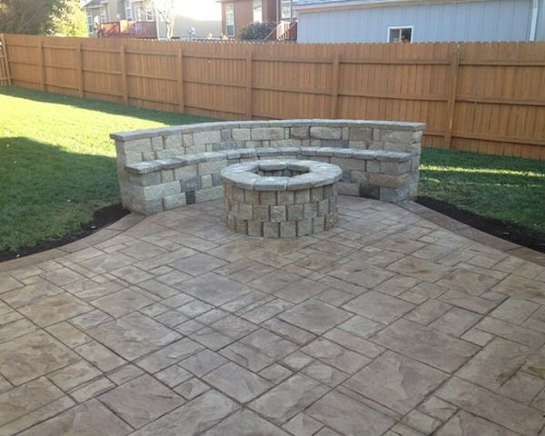 Good Stamped Concrete Patio   Google Search