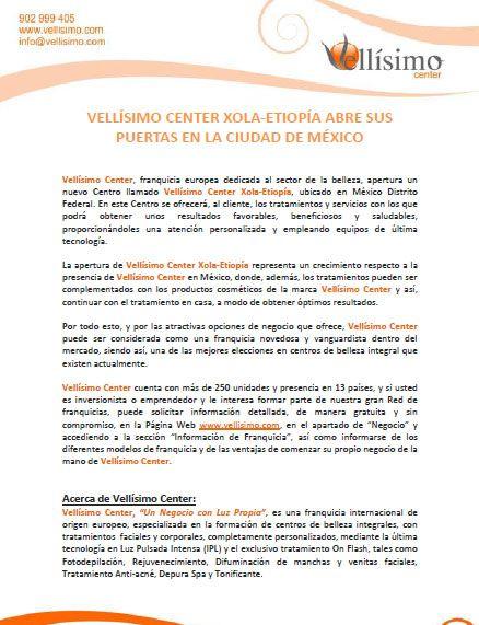@Vellisimocenter Xola-Etiopía abre sus puertas en la ciudad de #México
