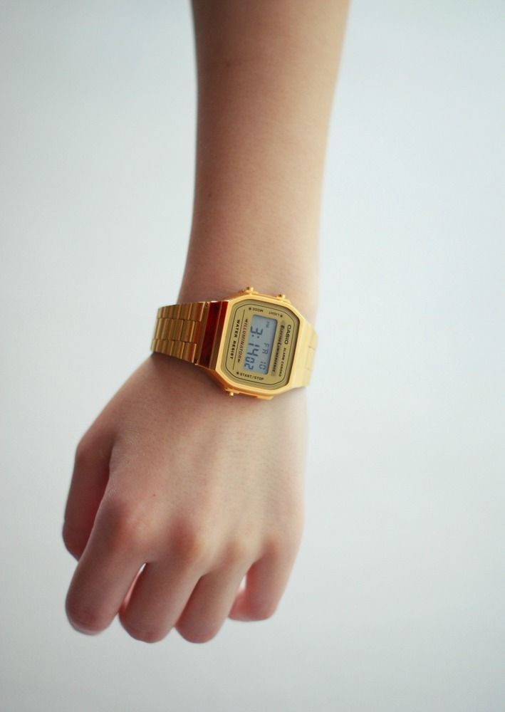 huge selection of 50e9e 0868d Casio A168WG-9EF Gold Plated Digital Watch | Time Bomb in ...