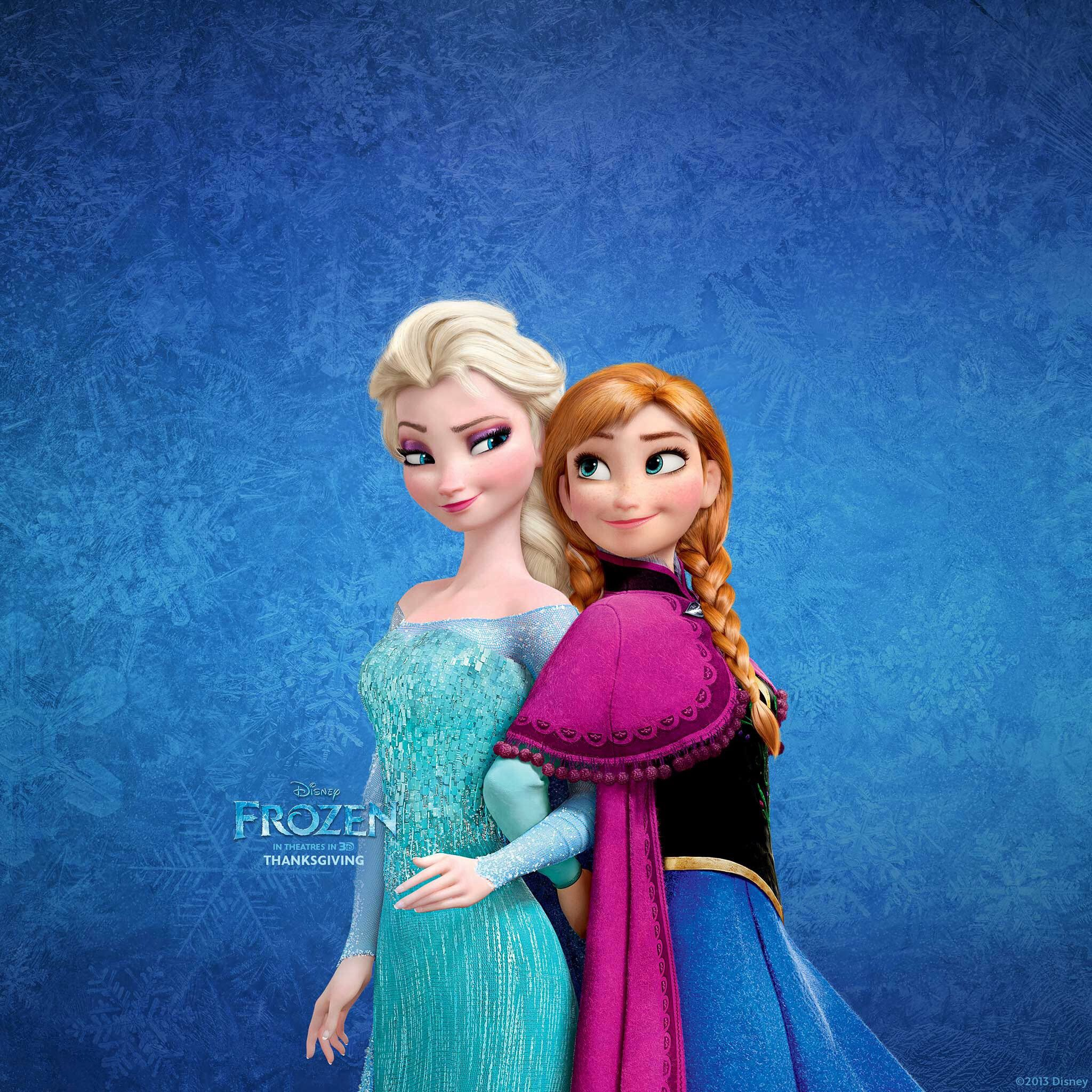 Queen elsa and her sister princess anna frozen anna elsa snow queen elsa in frozen wallpapers hd wallpapers voltagebd Images
