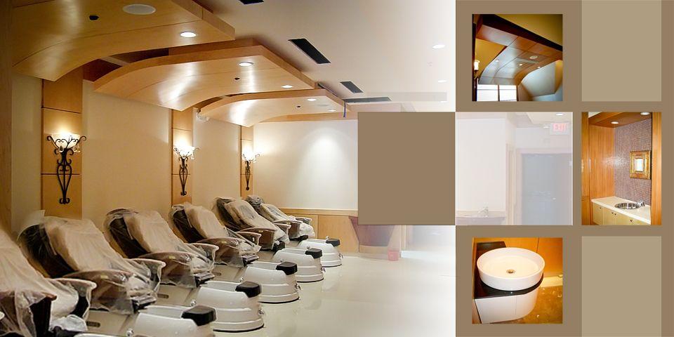 nail salon blueprint Nail Salon Interior Design Pictures Home