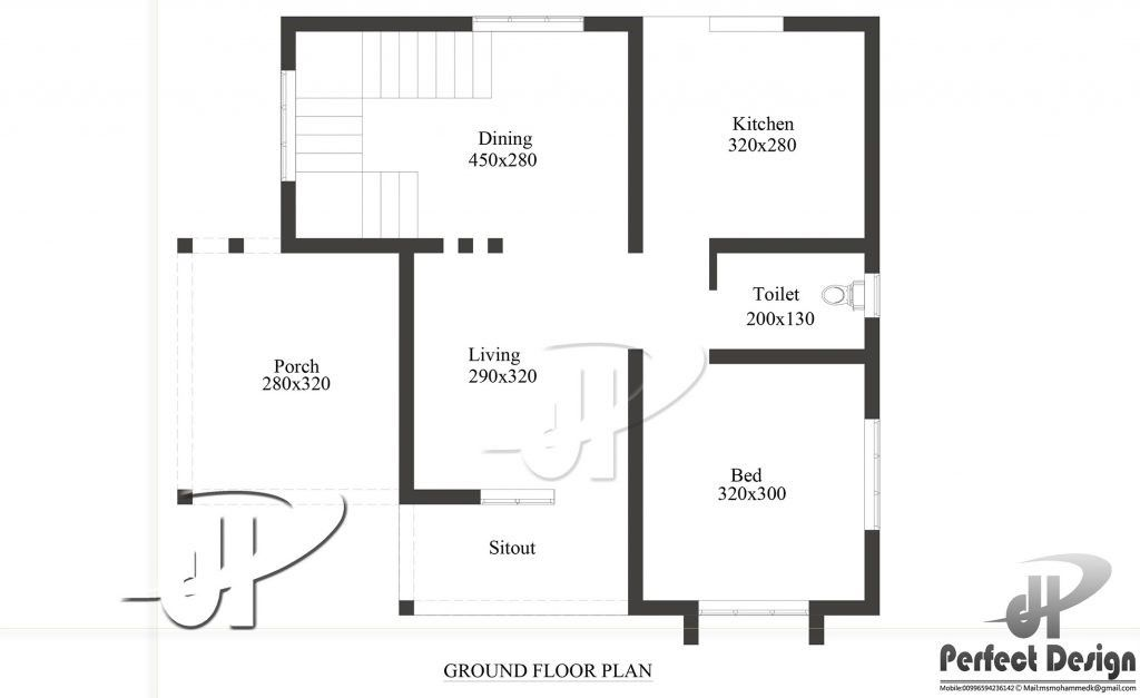 One Bedroom Single Story Residence In 60 M Lot Pinoy House Designs Pinoy House Designs Simple House Plans House Roof Design House Floor Plans