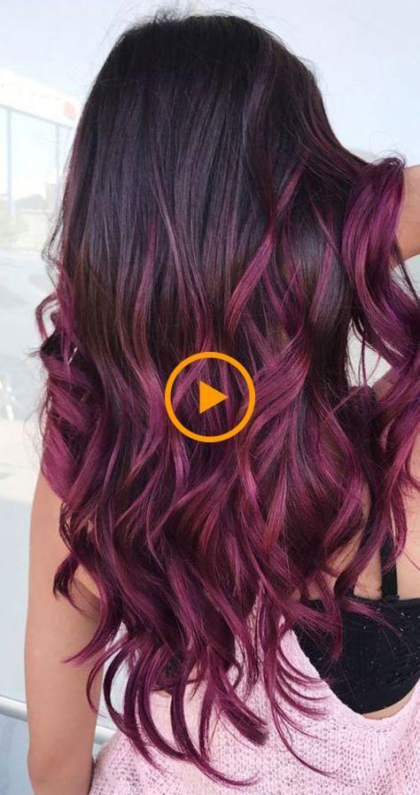 25 colori di capelli Balayage: riflessi biondi, marroni e caramello