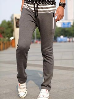 Justyle Slim-Fit Sweatpants $28.00 on Yesstyle