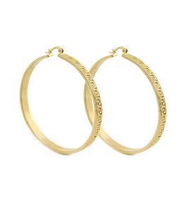 443bb22bbfcbe Versace hoop earrings