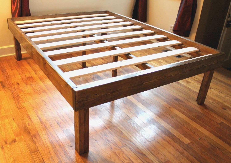 High Platform Bed Frame Queen New Bed Frames Wallpaper Hd