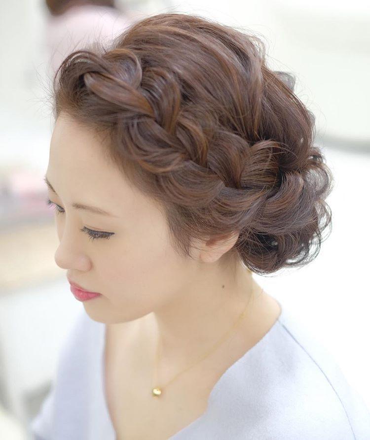 梅澤仁美*ヘアアレンジさんはInstagramを利用しています「前髪
