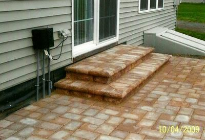 Exceptional Stone Patio Steps