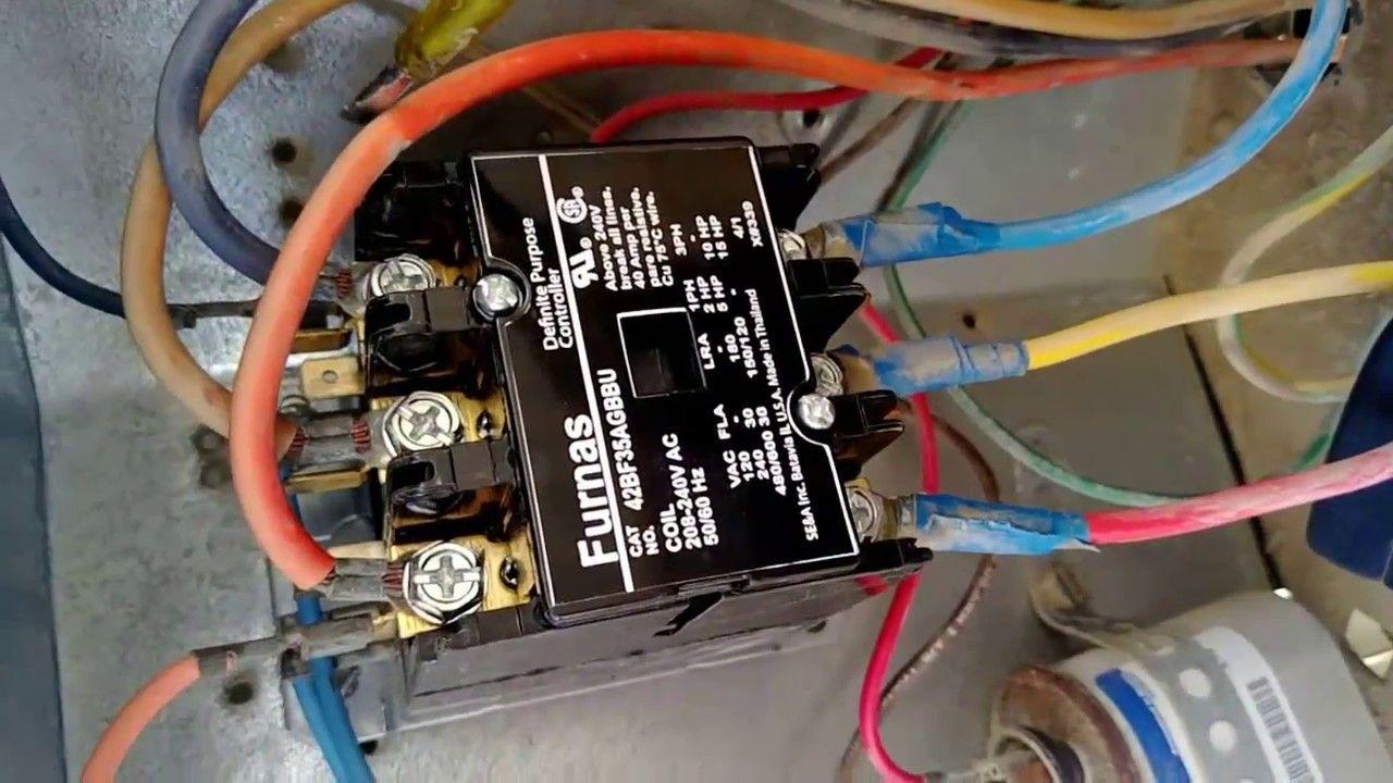 24 volt vs 240 v coil contactor wiring diagram air