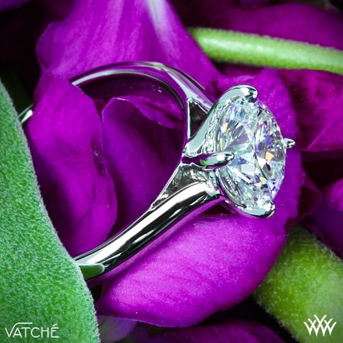 "Vatche ""Caroline"" Solitaire Engagement Ring"