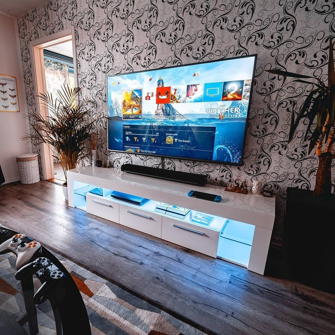 Todays Isetups Minimal Tv Setup Rate It 1 10 Photos By Justacasualgamer Home Studio Setup Room Setup Gaming Room Setup
