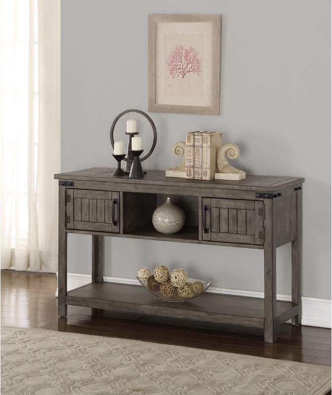 Three Posts Kemmerer Console Table Gray Console Table Legends
