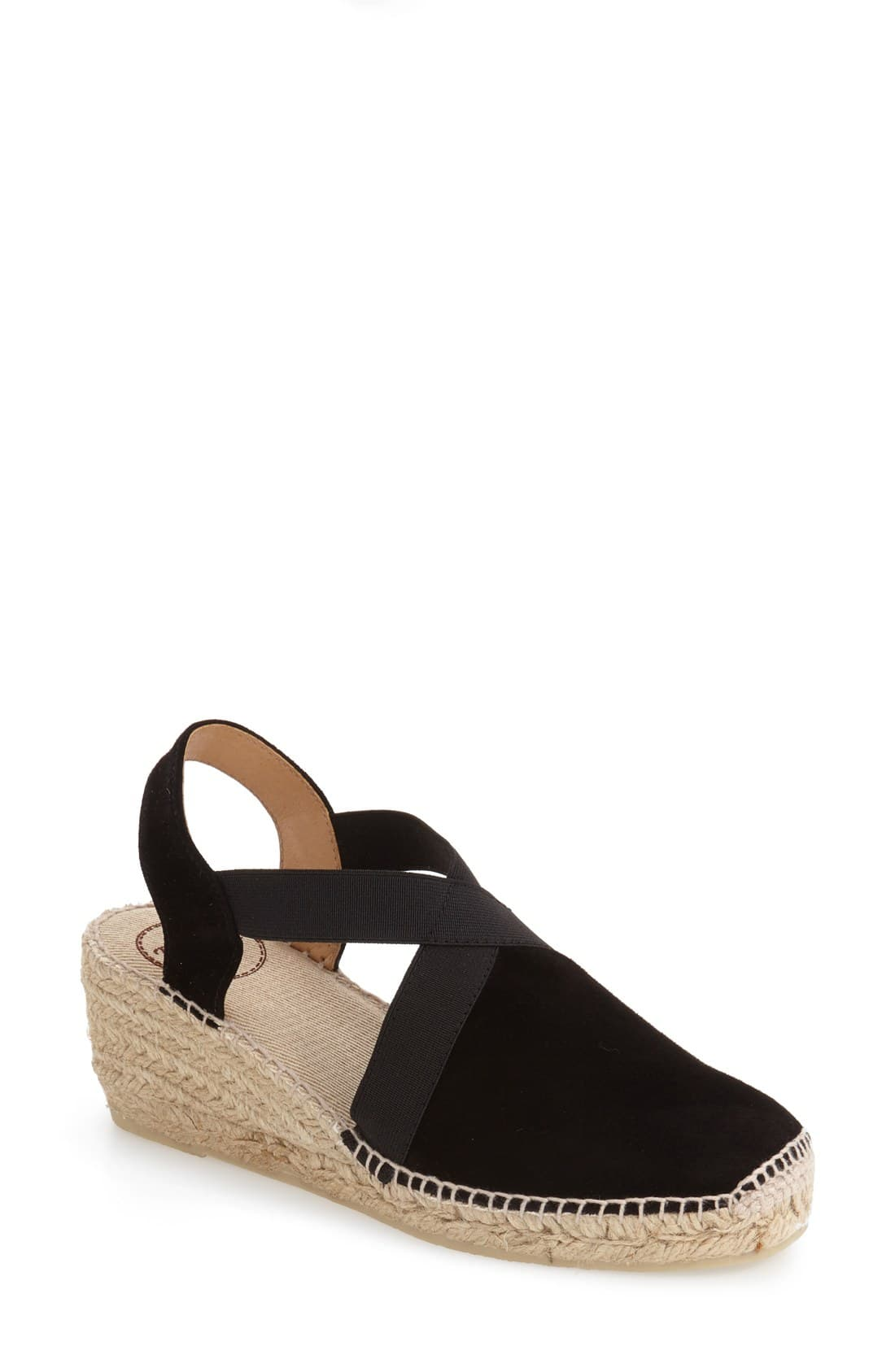 7e3983c0 Women's Toni Pons Tona Espadrille Wedge, Size 5.5-6US / 36EU - Black Black
