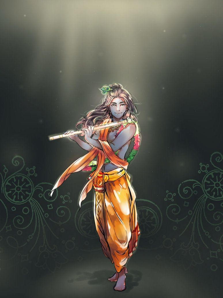 Krishna Vishnu Mahabharat Lord Krishna Wallpapers Lord