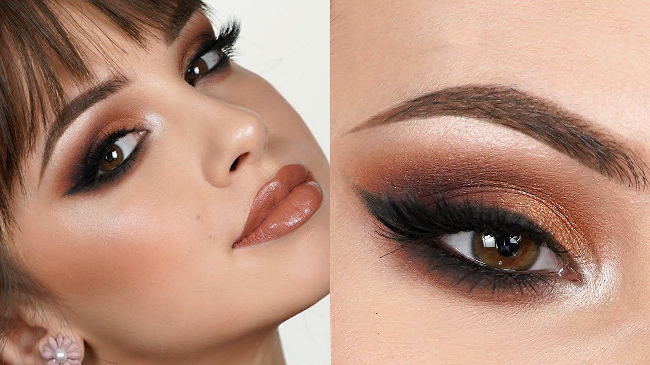 EXTRA GLAM Makeup Tutorial Bold Smokey Eye YouTube