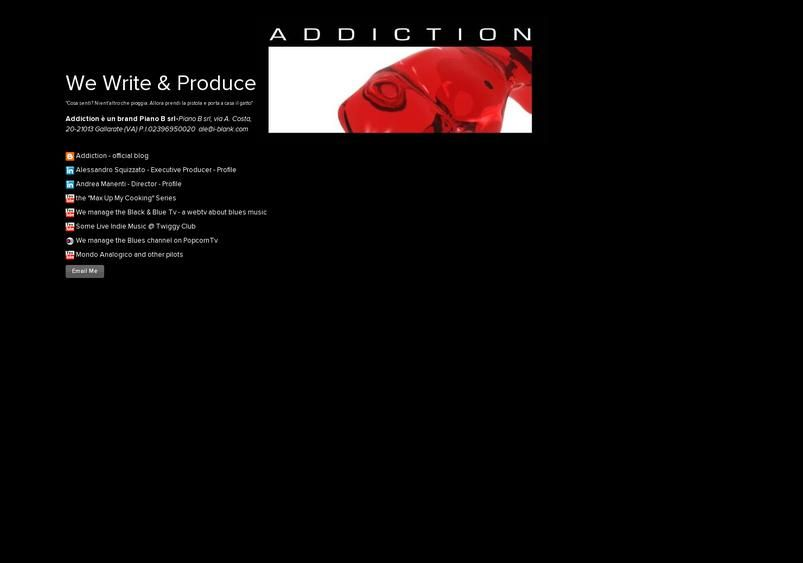 We Write & Produce's page on about.me – http://about.me/addictionweb