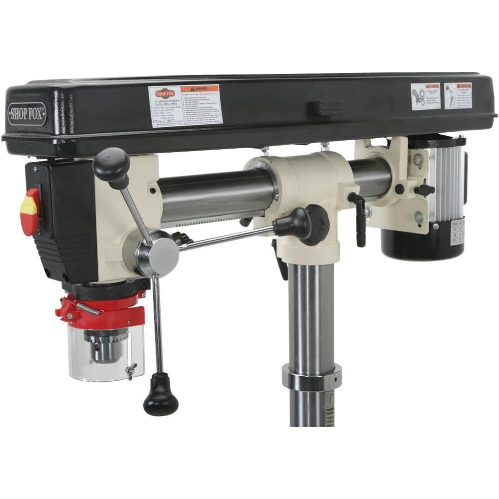 Shop Fox W1670 1//2 HP Floor Radial Drill Press