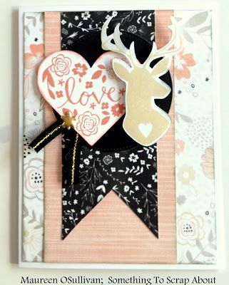 Let's Give 'em Something to Scrap About!: CTMH-- Woodland Romance Card