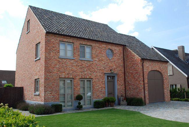 Huizen pastorie huizen pinterest huizen gevel en gevels for Moderne stijl gevel