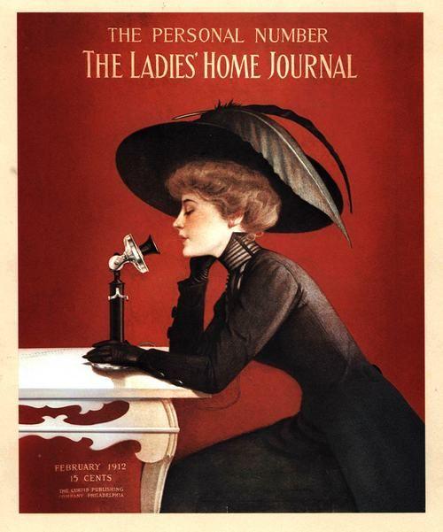 Ladies Home Journal Cover Feb 1912 Magazine Illustration Vintage Magazines Magazine Cover