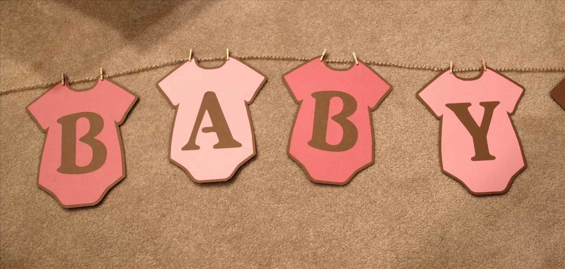 Baby Shower Banner Free Printable Whole Alphabet Banner Pink Gold Baby Shower Banner Bunting