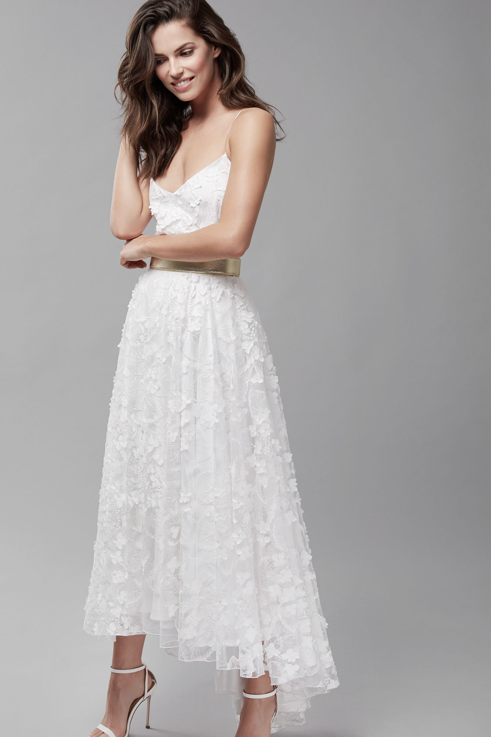 Mix&match your perfect wedding dress, ivory tulle with delicate 14D