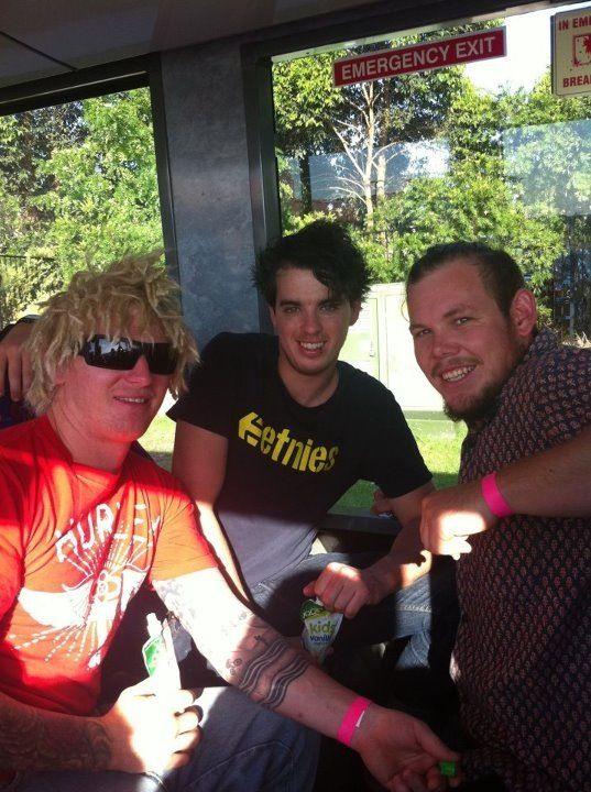 John, Jed and Mitchell