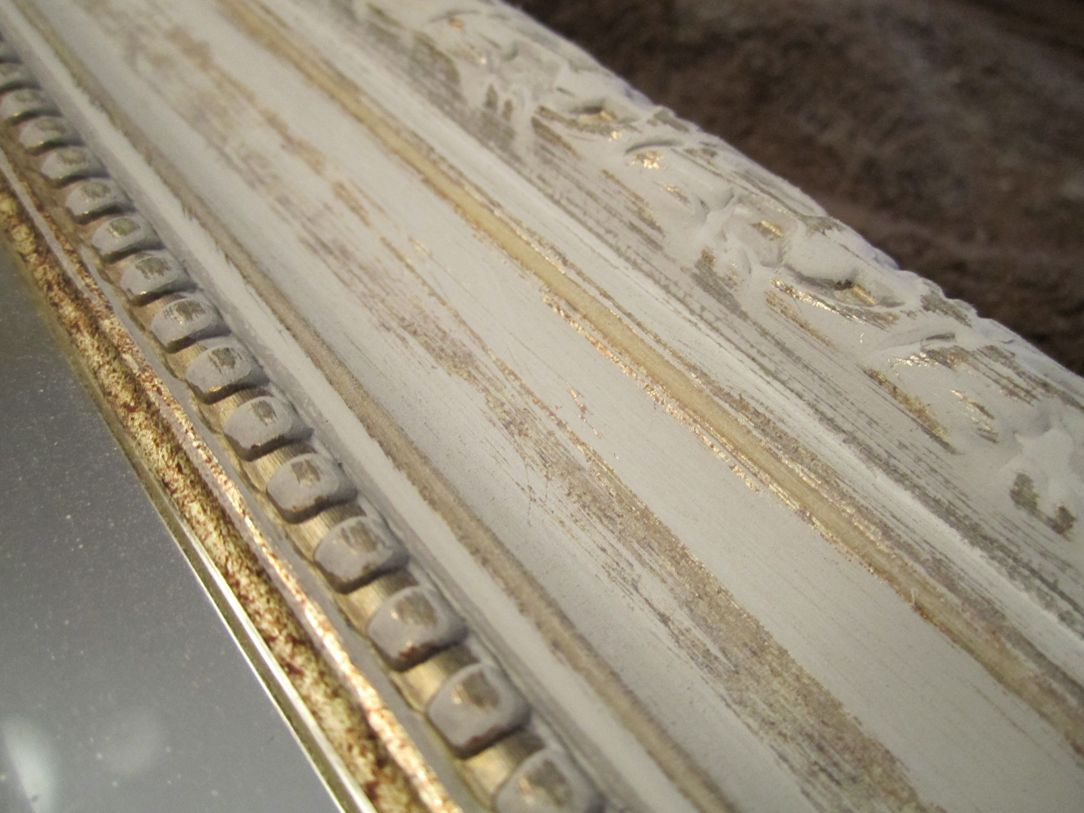 How to frame a bathroom mirror how to nest for less - Embellished Mirror For Daughter S Room