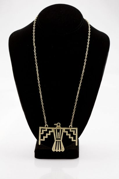 Eagle Statement Necklace  [A1169] -$16.20 OMGbebe.com Trend and New Vintage Clothing