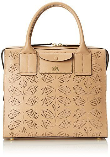 Orla Kiely Sixties Stem Punched Leather Margot Bag Securely Online Today At A Great Price Available